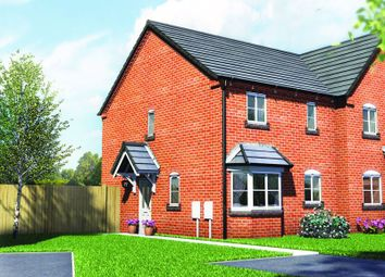 Thumbnail 3 bed semi-detached house for sale in Plot 8, Old Hall Fields, Mill Lane, Wellington