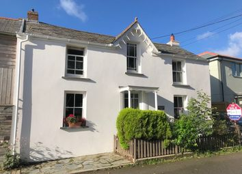 Thumbnail 4 bed semi-detached house for sale in Station Road, St. Mabyn, Bodmin