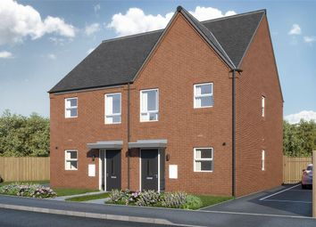 Thumbnail 3 bed semi-detached house for sale in Burton Road, Woodville, Swadlincote, Derbyshire