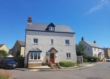 Thumbnail 4 bed detached house to rent in Knapps Crescent, Woodmancote, Cheltenham