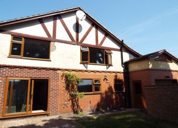 Thumbnail 4 bed detached house to rent in Alexandra Crescent, Uttoxeter