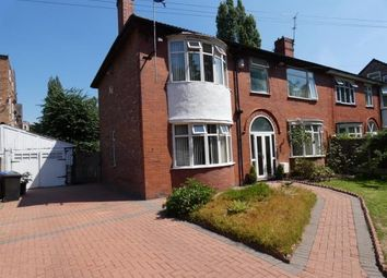 Thumbnail 4 bedroom semi-detached house for sale in Alness Road, Whalley Range, Manchester, Greater Manchester