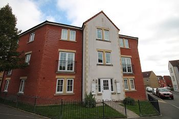 Thumbnail 2 bed flat to rent in Garth Road, Hilperton, Wiltshire