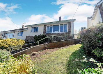 Thumbnail 2 bed semi-detached house for sale in West Mount, Newton Abbot, Devon