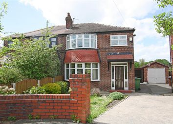Thumbnail 3 bedroom semi-detached house for sale in Ogwen Drive, Prestwich, Manchester