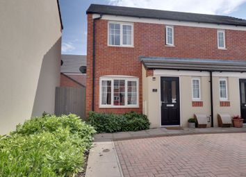 Thumbnail 3 bed semi-detached house for sale in Shakespeare Drive, Penkridge, Stafford