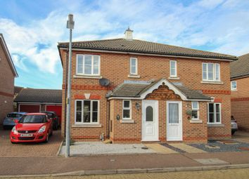 Thumbnail 3 bed semi-detached house for sale in Honorius Drive, Colchester