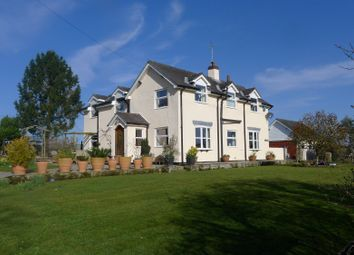 Thumbnail 4 bed detached house for sale in Foxes Lane, Broughall, Whitchurch