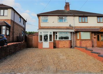 Thumbnail 3 bed semi-detached house for sale in Newcastle Street, Silverdale, Newcastle-Under-Lyme