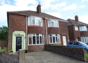 Thumbnail 3 bed semi-detached house for sale in Fairfield Road, Hugglescote, Leicestershire
