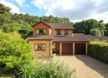 Thumbnail 4 bed detached house for sale in Fern Close, Frimley, Camberley, Surrey
