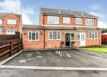 Thumbnail 4 bed semi-detached house for sale in Brutus Drive, Coleshill, Birmingham, .