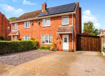 Thumbnail 3 bed semi-detached house for sale in Steamer Point Road, Nocton
