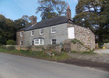 Thumbnail 5 bed farmhouse to rent in Pentewan, St. Austell
