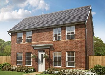 "Thumbnail 3 bed detached house for sale in ""York"" at Weddington Road, Nuneaton"