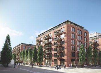 Thumbnail 1 bedroom flat for sale in Pavillion Square, Royal Arsenal Riverside