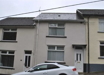 Thumbnail 3 bed terraced house for sale in Glynmarch Street, Deri, Bargoed