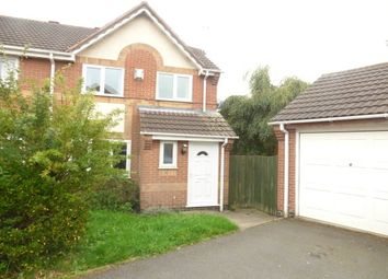 Thumbnail 3 bed semi-detached house to rent in Loweswater Grove, Ashby-De-La-Zouch