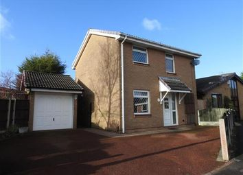 Thumbnail 3 bed detached house for sale in Stonebridge Close, Lostock Hall, Preston