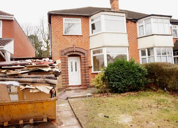 Thumbnail 3 bed semi-detached house to rent in Wood Lane, Handsworth Wood, Birmingham