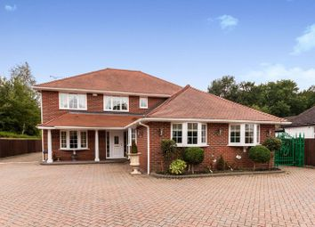 Thumbnail 5 bed detached house to rent in Nine Mile Ride, Finchampstead, Wokingham