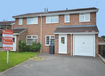 Thumbnail 3 bed semi-detached house for sale in Russet Close, Oakwood, Derby