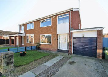 Thumbnail 3 bed semi-detached house for sale in Scampton Close, Thornaby, Stockton-On-Tees