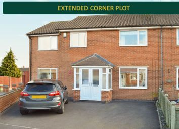 Thumbnail 4 bed end terrace house for sale in Wiltshire Road, Wigston, Leicester