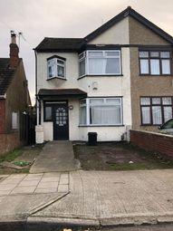 Thumbnail 3 bedroom semi-detached house to rent in 7 Edmund Road, Rainham, Essex