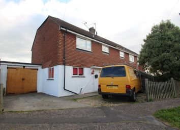 Thumbnail 3 bedroom property to rent in Blacksmiths Crescent, Sompting