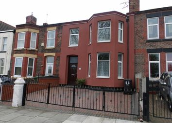 Thumbnail 4 bed terraced house for sale in Park Road East, Birkenhead