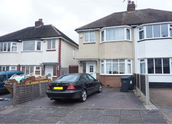 Thumbnail 3 bedroom semi-detached house to rent in Widney Avenue, Birmingham