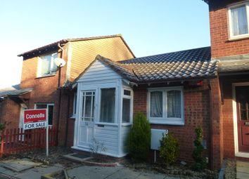 Thumbnail 1 bedroom terraced bungalow for sale in Challacombe, Furzton, Milton Keynes