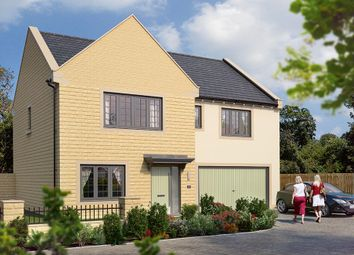 "Thumbnail 5 bed detached house for sale in ""The Cotham"" at Wharfedale Avenue, Menston, Ilkley"