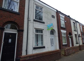 Thumbnail 2 bedroom terraced house to rent in Stockport Road East, Bredbury, Stockport