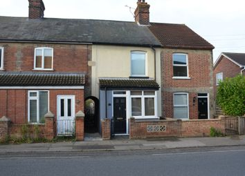 2 bed terraced house for sale in High Road, Trimley St. Mary, Felixstowe IP11