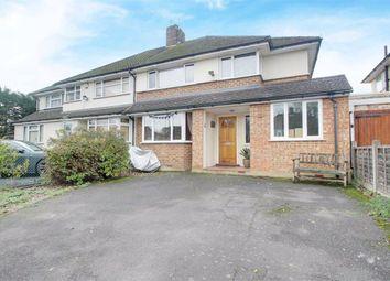 Thumbnail 4 bed semi-detached house for sale in Ridgehurst Avenue, Leavesden, Watford