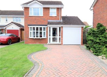 Thumbnail 3 bed detached house for sale in Home Furlong, Wellesbourne, Warwick