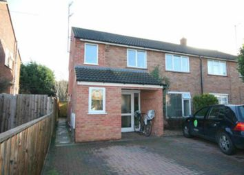 Thumbnail 2 bed maisonette to rent in Long Reach Road, Cambridge