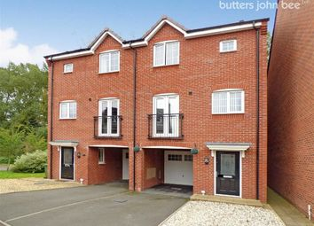 Thumbnail 3 bed semi-detached house for sale in Hartley Close, Stone, Staffordshire