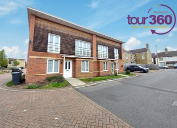 Thumbnail 2 bed semi-detached house for sale in Baxter Close, Peterborough