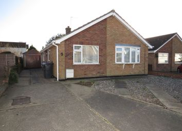 Thumbnail 2 bed detached bungalow for sale in Evans Drive, Lowestoft