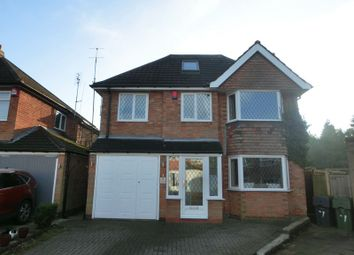 Thumbnail 5 bed detached house for sale in Three Corner Close, Shirley, Solihull