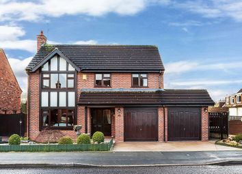 Thumbnail 3 bed detached house for sale in Linksway, Congleton