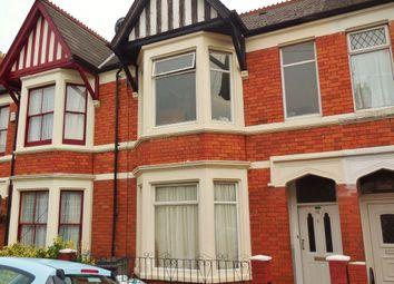 Thumbnail 4 bedroom terraced house for sale in Alma Road, Penylan, Cardiff