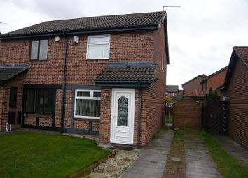 Thumbnail 2 bed semi-detached house to rent in Romsey Drive, Boldon Colliery
