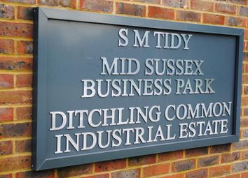 Thumbnail Light industrial to let in Unit Opq (D & E), Sm Tidy Industrial Estate, Ditchling Common, Hassocks