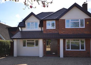 Thumbnail 4 bed detached house for sale in Watchetts Lake Close, Camberley, Surrey