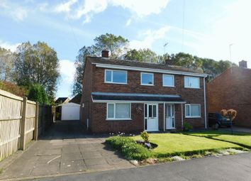 Thumbnail 3 bed semi-detached house for sale in Charnwood Street, Coalville