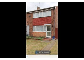 Thumbnail 3 bed semi-detached house to rent in Poplar Road, Ashford